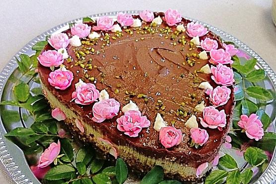 Schokoladen-Avocado-Torte