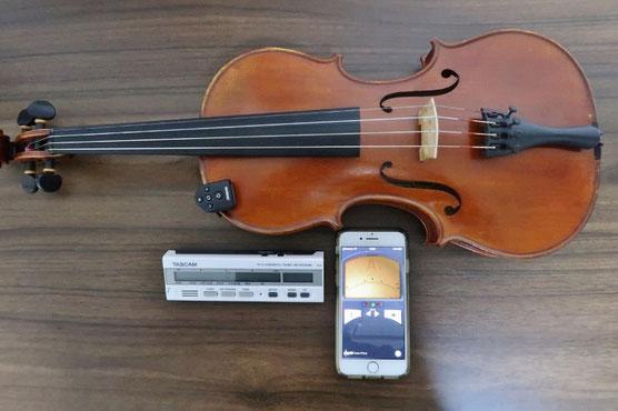 ヴァイオリン チューナー 調弦