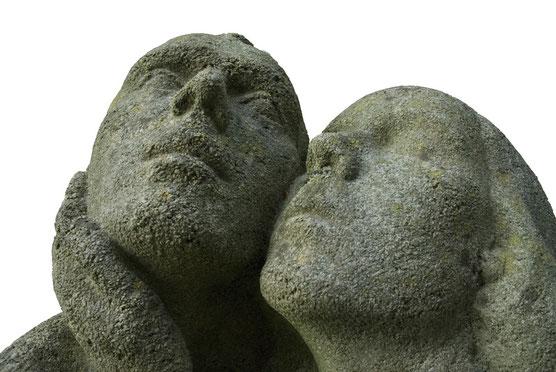 Skulptur, Herbert Lungwitz, im Kunstgarten des Atelierhauses
