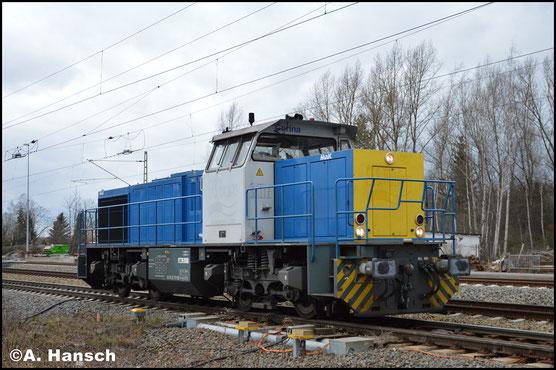 275 102-6 rollt am 29. Januar 2018 Lz durch Leipzig-Thekla