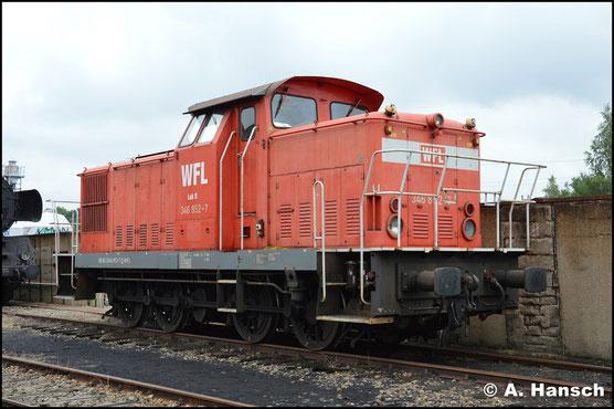 Bei WFL ist die Lok als Lok 9 eingereiht