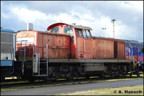 Am 12. Februar 2019 steht die Lok im Werk Cottbus