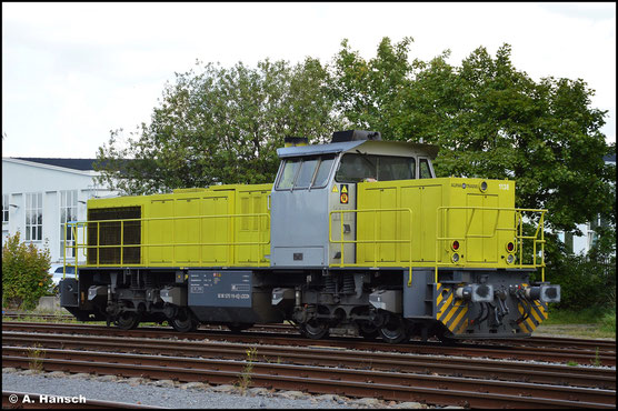 275 119-6 steht am 10. September 2021 im Chemnitzer Südbahnhof