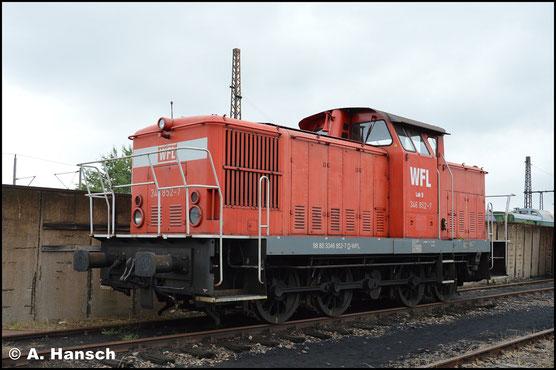 346 852-7 ist am 18. August 2018 im SEM Chemnitz ausgestellt