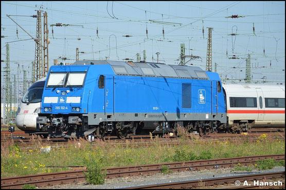 076 002-9 (PRESS 285 102-4) steht am 10. Oktober 2015 im Vorfeld von Leipzig Hbf.