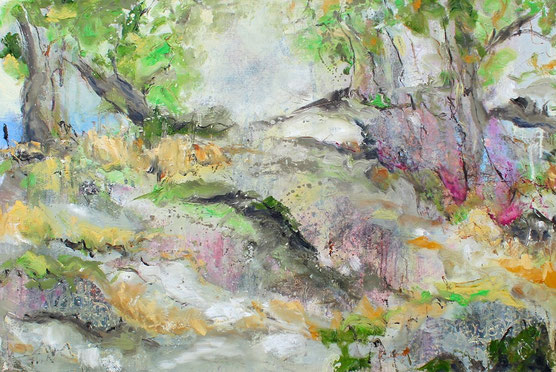 Öl auf Leinwand, 40 x 50 cm