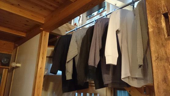 気持ちよく室内干しできる家 埼玉県さいたま市木の家づくり工務店