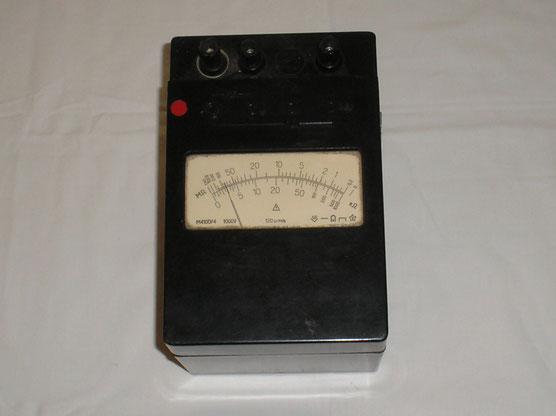 UDSSR  Isolations Messgerät Typ. M 4100/4 - NVA-DDR
