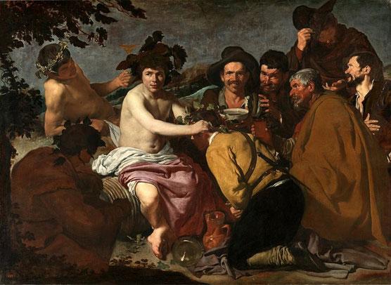 Триумф Вакха (Пьяницы) - самые известные картины Диего Веласкеса