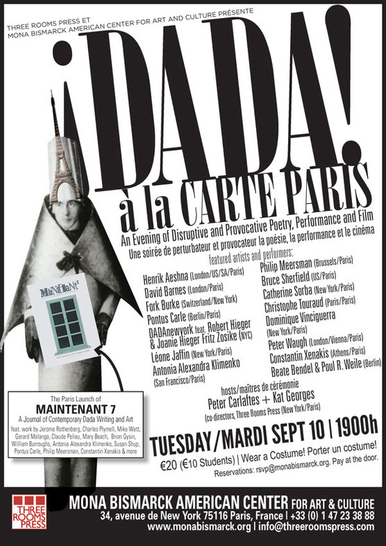 ¡DADA! à la CARTE PARIS!
