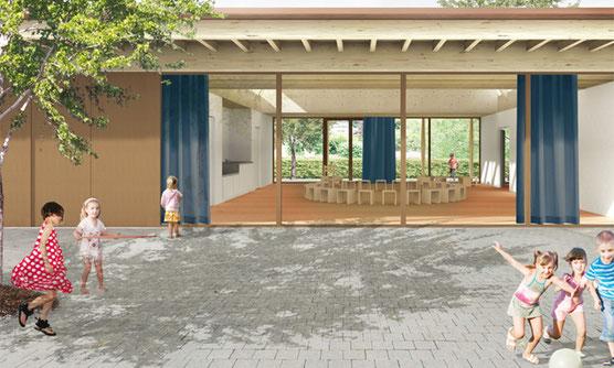 Visualisierung Siegerprojekt (bernath + widmer Architekten)
