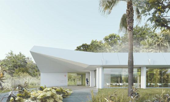 Visualisierung Siegerprojekt (Berrel Berrel Kräutler Architekten AG)