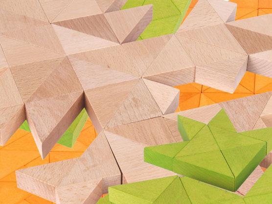 Holzspielzeug-Beck Trioko Dreiecke