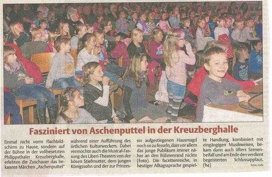 Bericht und Foto der Hersfelder Zeitung