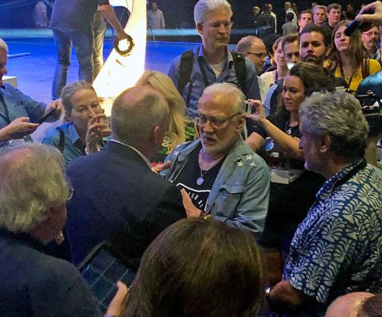 Buzz Aldrin Starmus V