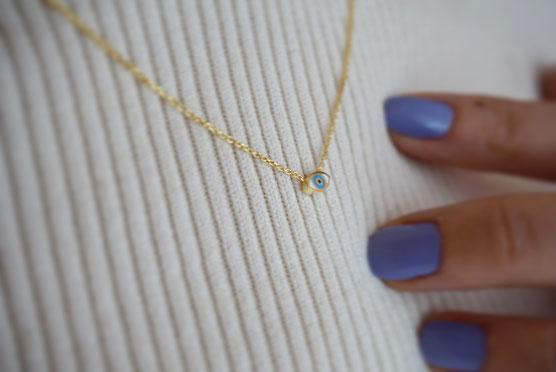 Suenos Jewellery Halskette Nazar minimal