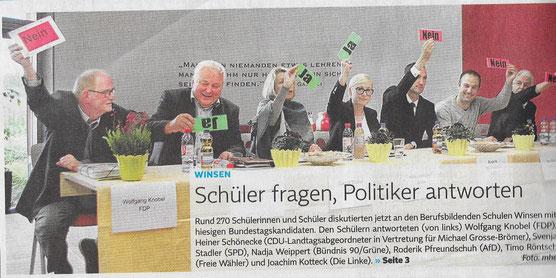 Winsener Anzeiger, 14.September 2017