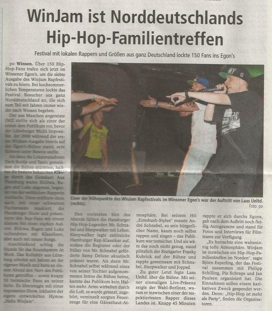 Winsener Anzeiger, 01.08.2014