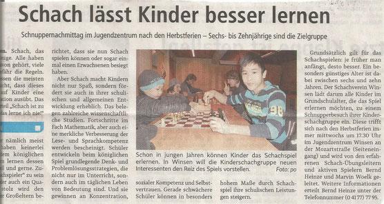 Winsener Anzeiger, 8.10.2016