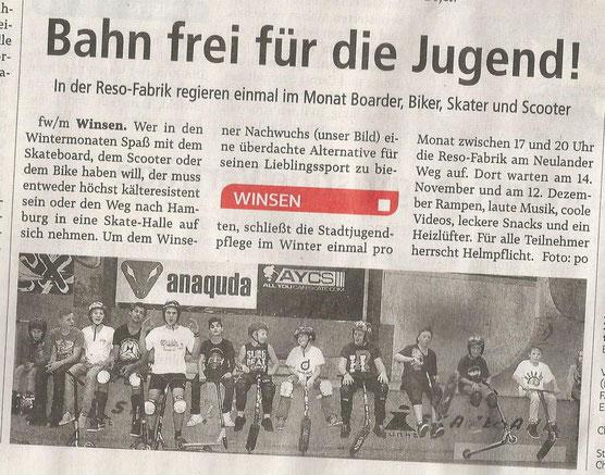 Winsener Anzeiger, 10.11.2016