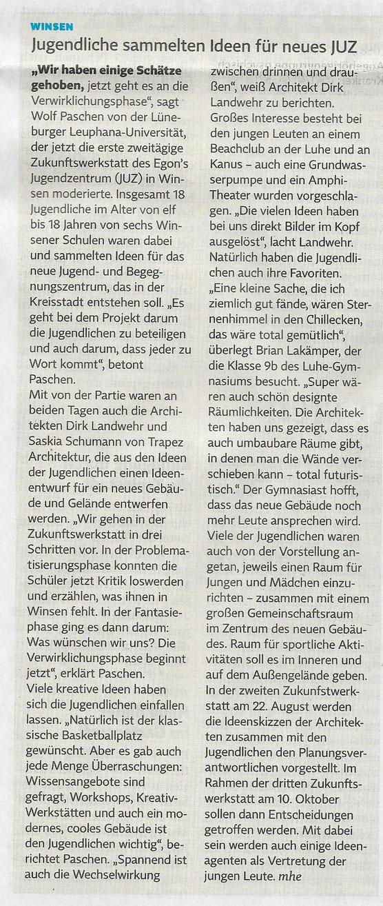 Winsener Anzeiger, 22.06.2018