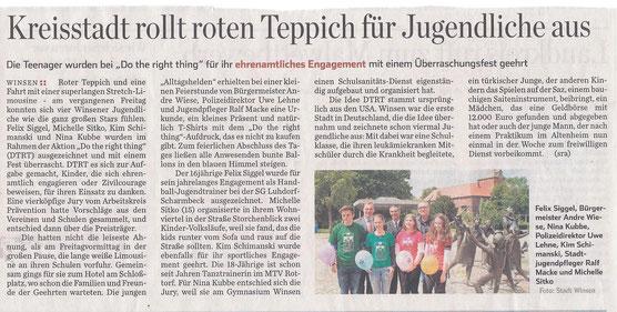 Hamburger Abendblatt, 24.06.14