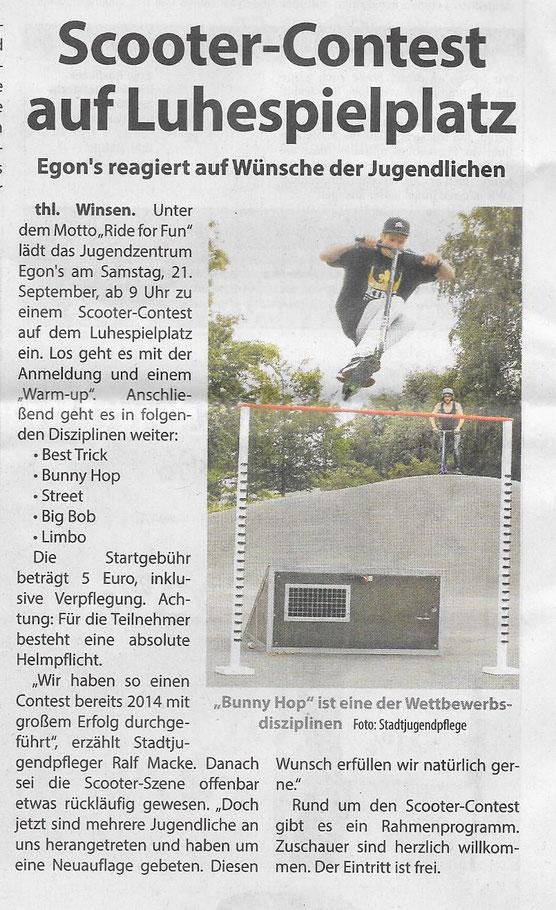 Wochenblatt Elbe- und Geest, 16.09.2019