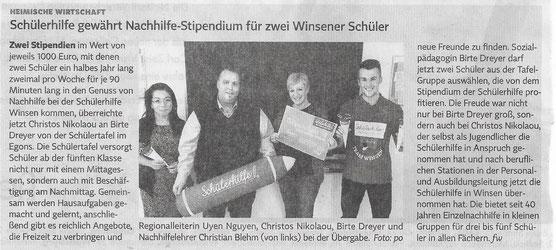 Winsener Anzeiger, 30./31.03.2019
