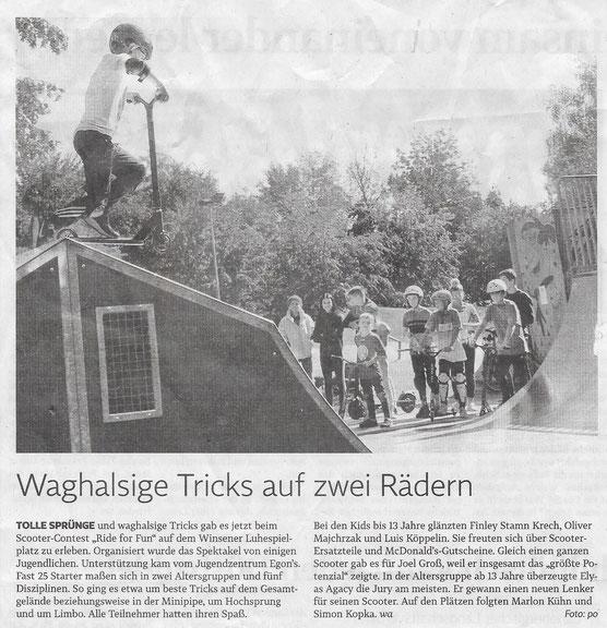 Winsener Anzeiger, 01.10.2019