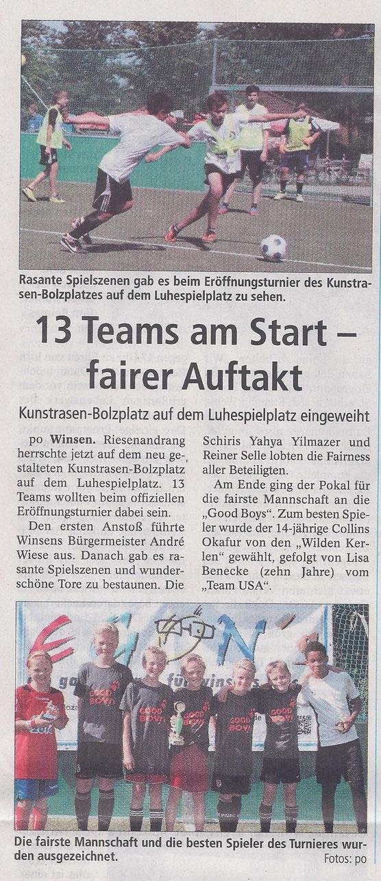 Winsener Anzeiger, 8.07.2014