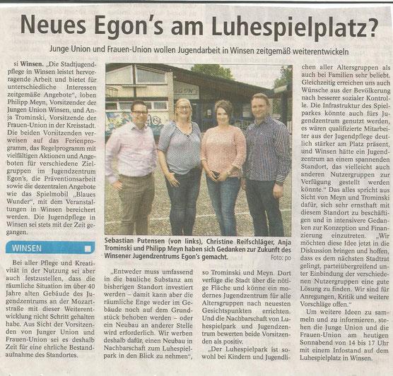 Winsener Anzeiger, 13.08.2016