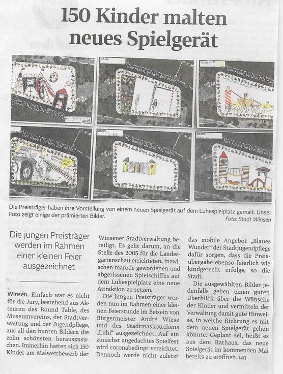 Winsener Anzeiger, 16.10.2020