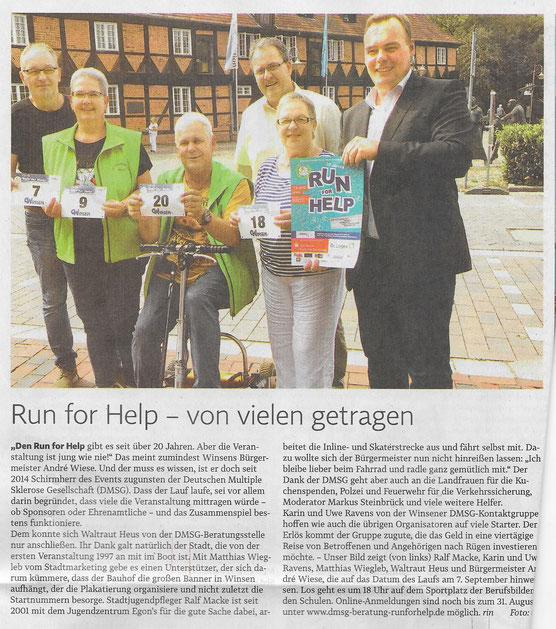 Winsener Anzeiger, 24.08.2018