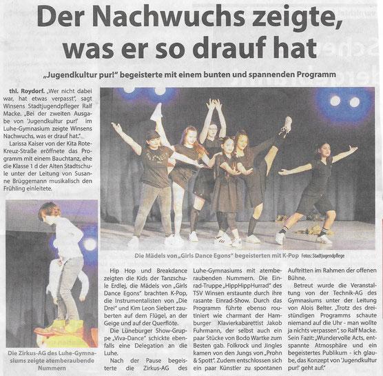 Wochenblatt Elbe und Geest, 10.04.2019