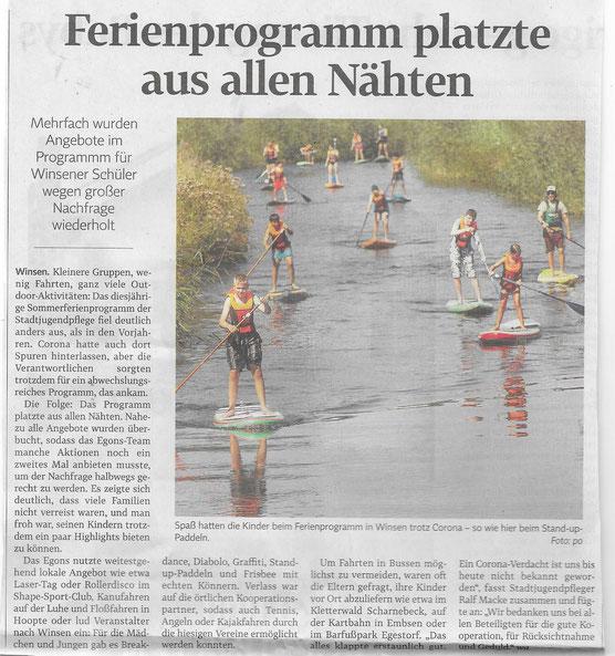 Winsener Anzeiger, 30.08.2020