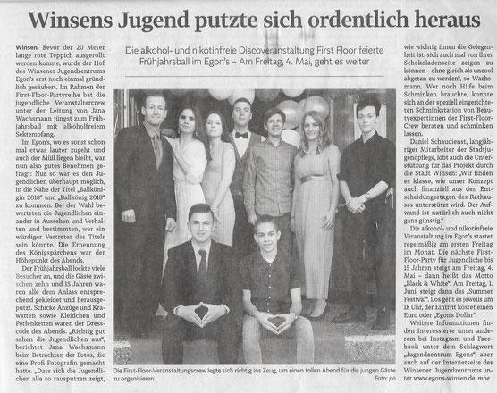 Winsener Anzeiger, 02.05.2018