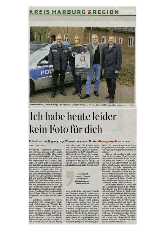 Hamburger Abendblatt, 17.03.2015