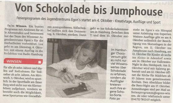 Winsener Anzeiger, 27.09.2016