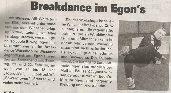 Wochenblatt Marsch & Heide, 12.02.15