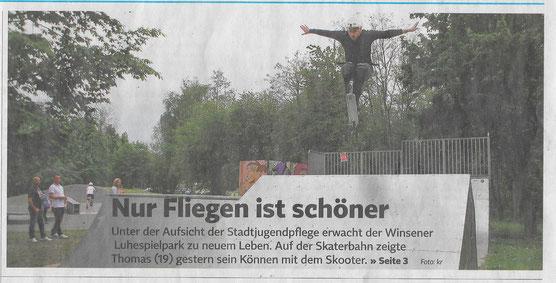 Winsener Anzeiger, 11.05.2020