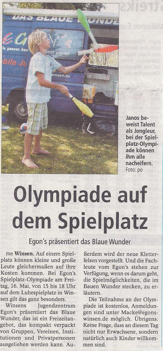 Winsener Anzeiger, 30.04./01.05.2014