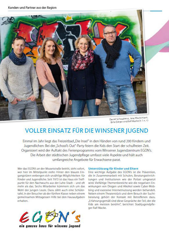 Stadtwerke - Magazin, April 2019
