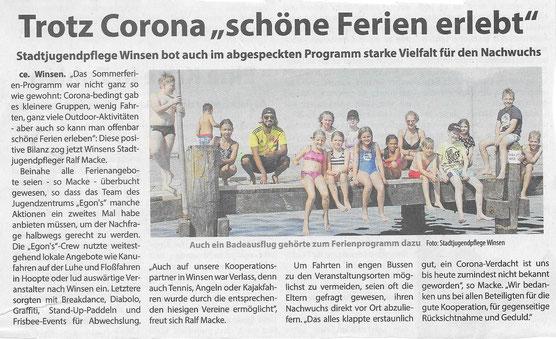 Wochenblatt Elbe & Geest, 05.09.20