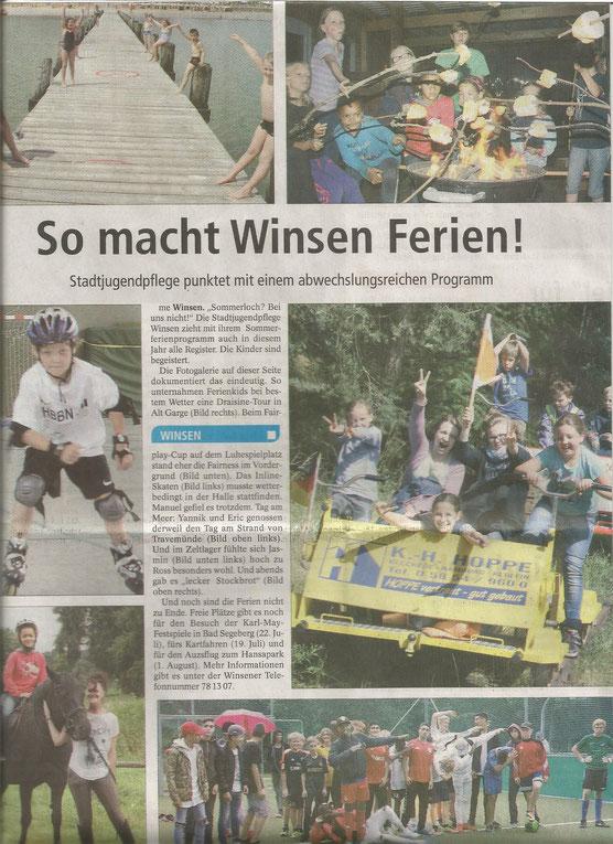 Winsener Anzeiger, 12.07.2016