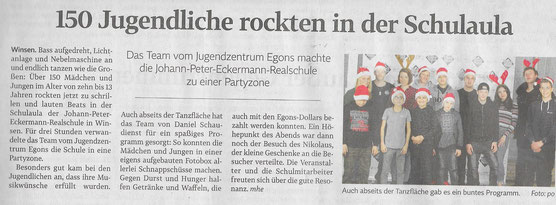 Winsener Anzeiger, 16.12.2019