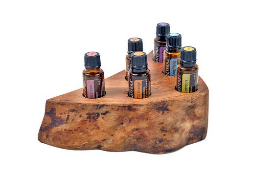 Aufsteller für ätherische Öle / Unikate von Yogawood - Öle von doTerra
