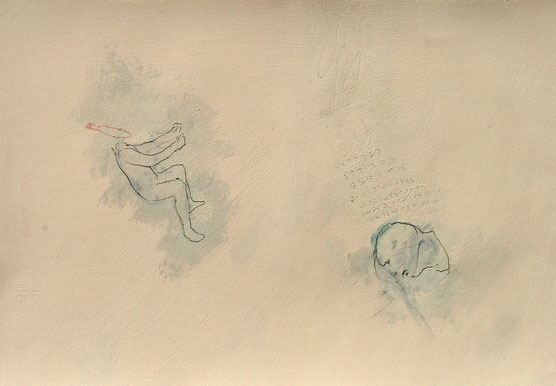 """First Fifty, 2014, mm on paper, 15"""" x 22"""""""