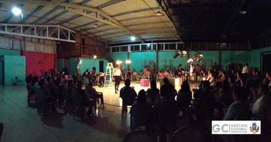 Salón comunal de Candelaria (22/11/14)