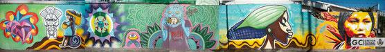 Proyecto Arte Urbano Palmares / Tema: somos de maíz
