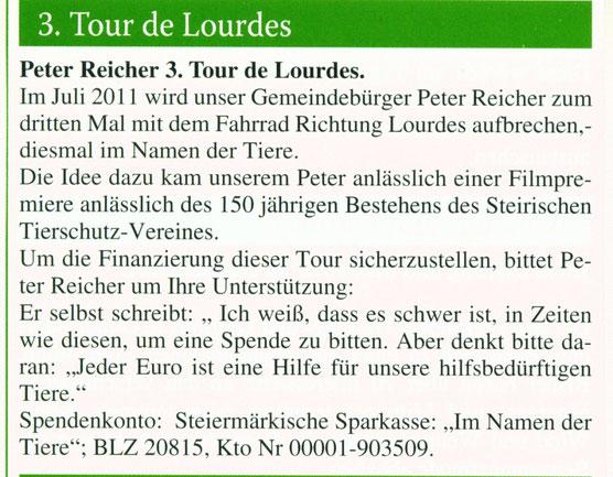 Gemeindezeitung:Gemeinsam Aktuell-Ausgabe 2/Juni 2010